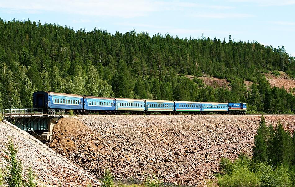 Амуро-Якутская железнодорожная магистраль - фотография с сайта parovoz.com
