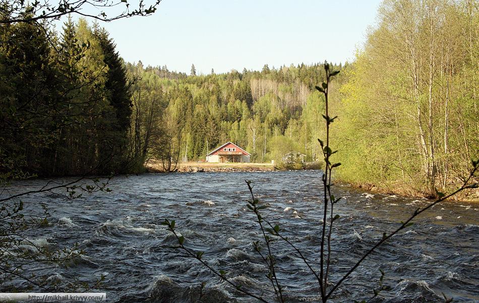 Река Бё (Bø) в окрестностях одноименного городка Бё (Bø)