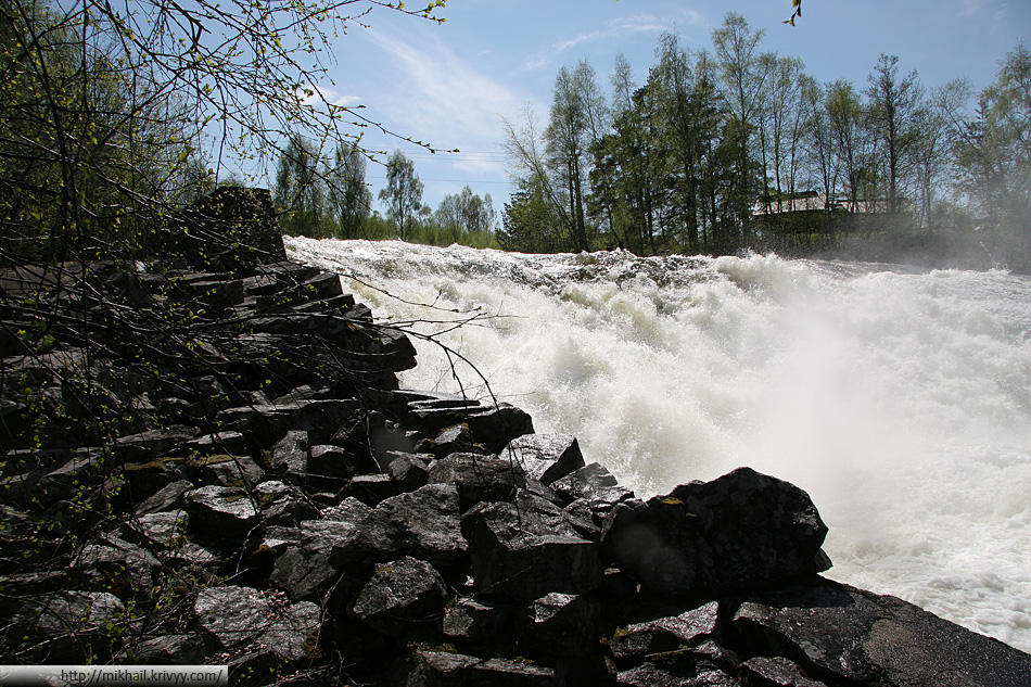 Порог на реке Бё (Bø)