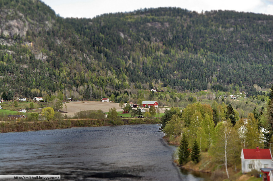 Канал Телемарк. Норвегия. Telemark channel. Norway.