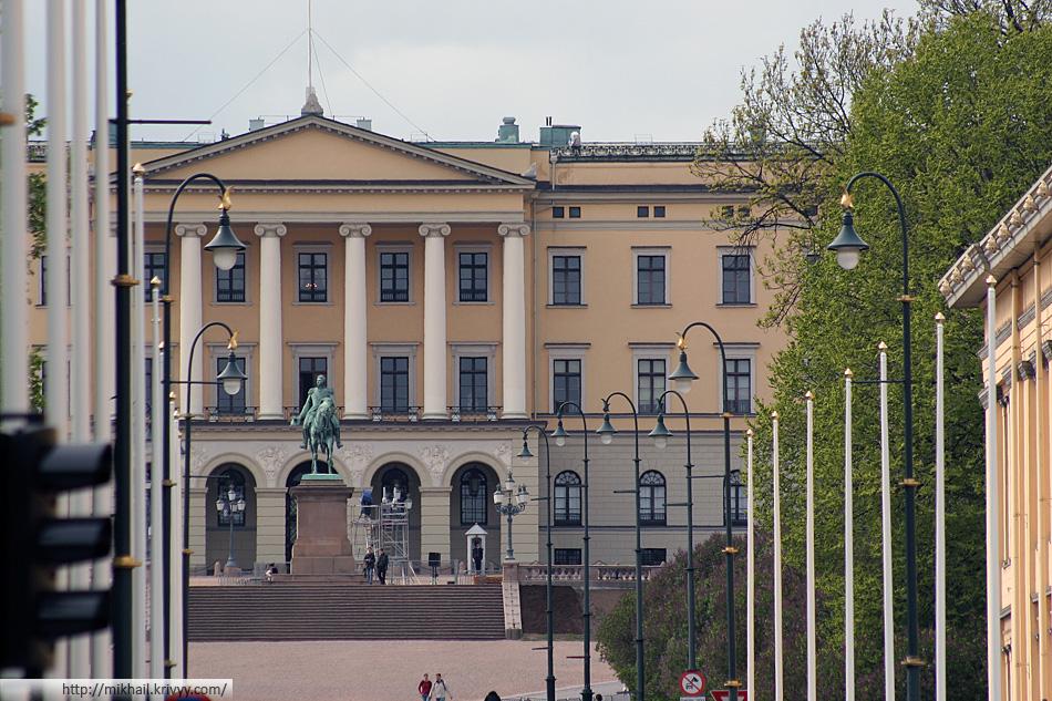 Королевский дворец (Det Kongelige Slott).