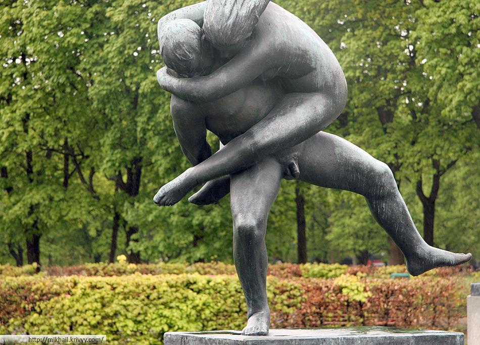 Скульптура Вигеландспарка (Vigelandsparken).