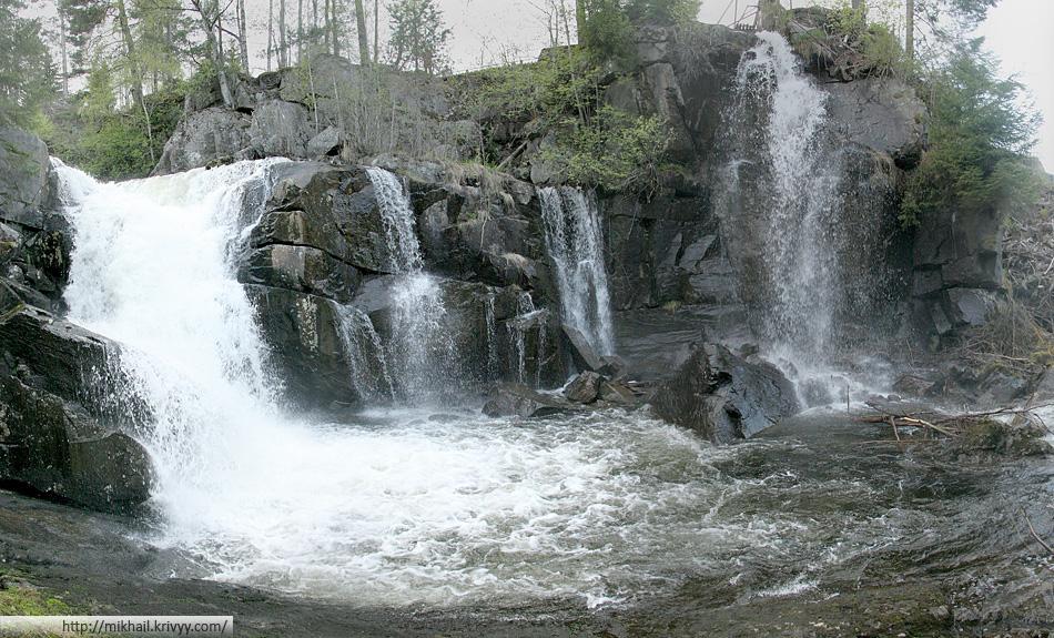Водопады на реке Бё (Bø)