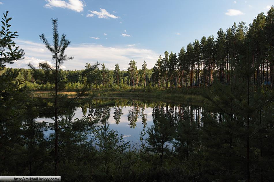 Озеро Съезжее.