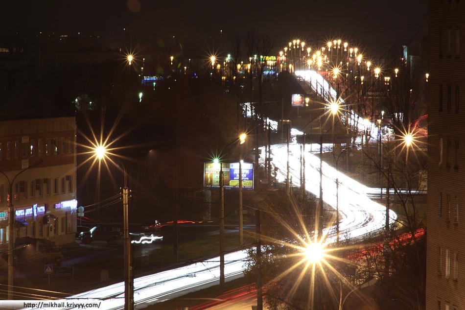 Огненная река. Проспект Александра Корсунова (Григоровское шоссе).