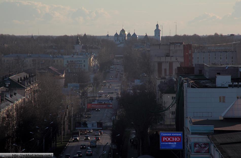 Улица Большая Санкт-Петербургская. Софийский Собор.