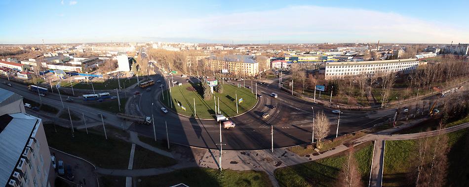 Площадь Строителей.