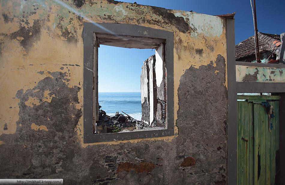 Океан в окне.