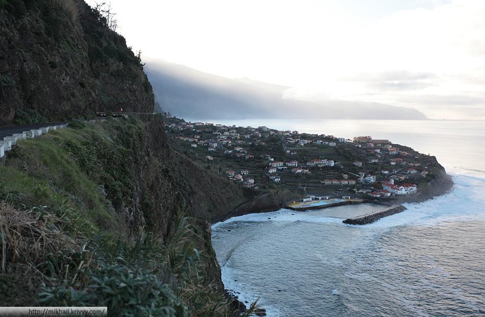 Ponta Delgada. Северная часть Мадейры.