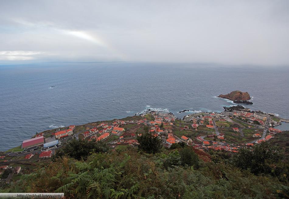Панорама Порту-Мониш. Мадейра.