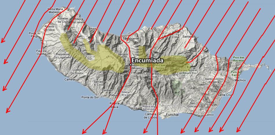Остров Мадейра. Облачность и погода в декабре.