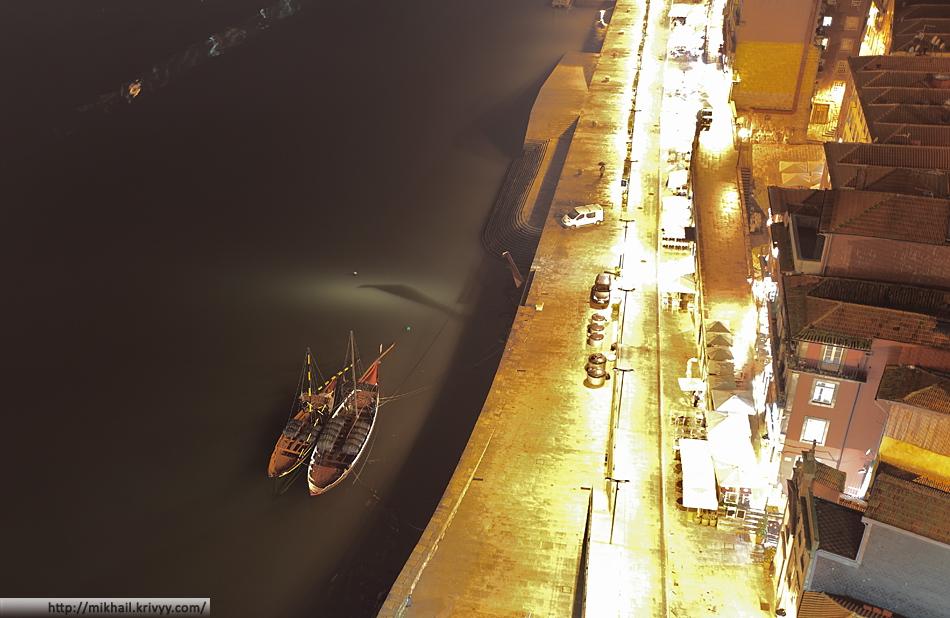 Набережная порту. Типичные лодки реки Дору.
