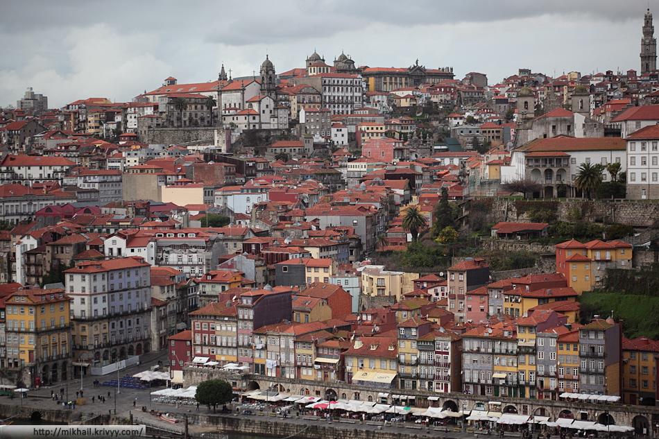 Исторический центр Порту.
