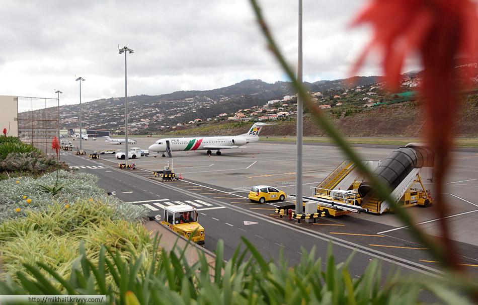 Fokker 100 авиакомпании Air Portugal.