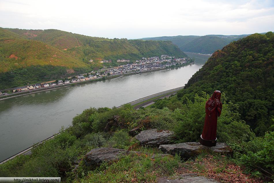 Река Рейн. Деревушка Кестерт.