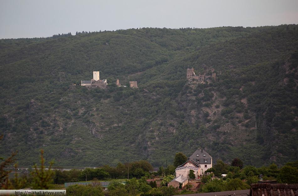 Замок Штерренеберг. Правый берег Рейна.