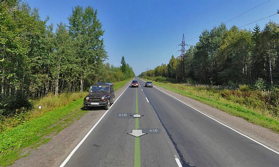 A120 - внешнее кольцо Санкт-Петербурга. Между M10 и Гатчиной.