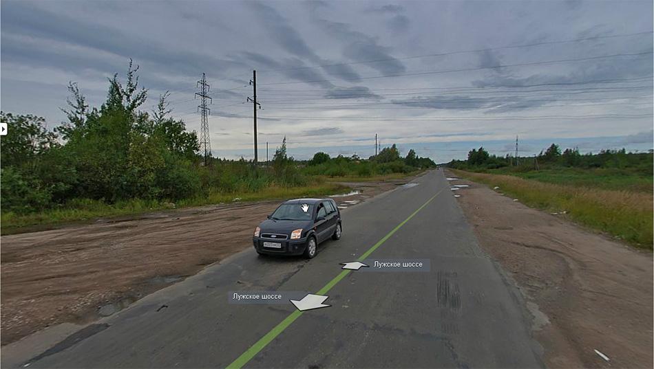 Великий Новгород. Легендарное Лужское шоссе (Р47). В черте города.