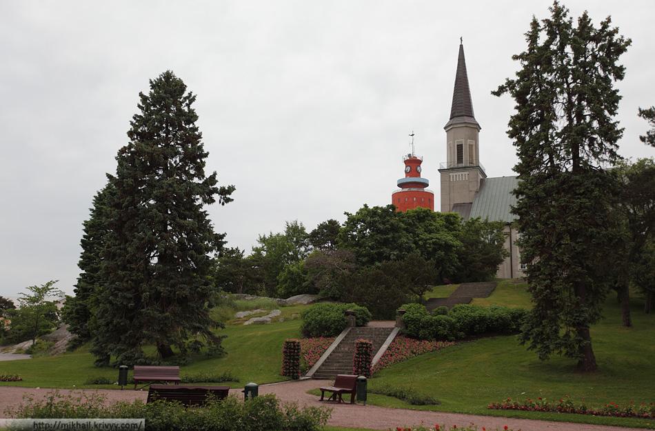 Протестантский собор (1892) и водонапорная башня (со смотровой площадкой)