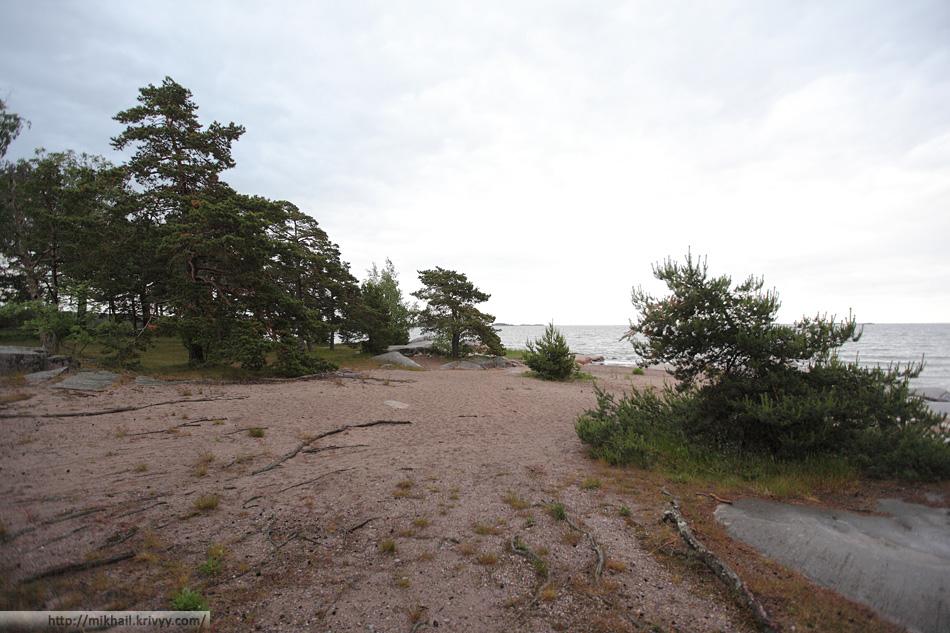 Пляжи Ханко. В тот день погода подвела.