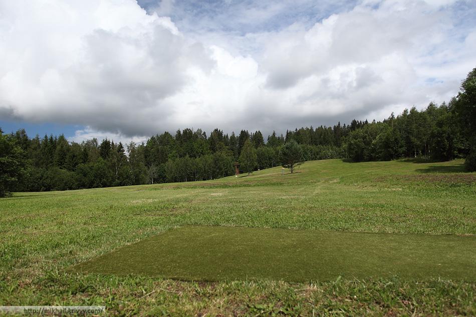 Диск-гольф парк Техванди.