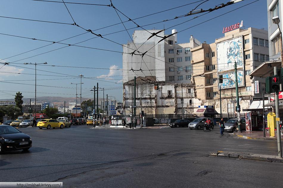 Пирей. Порт Афин - второе, после аэропорта, лицо города. С туристической точки зрения, наверное даже первое.
