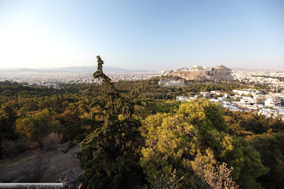 Акрополь и Афины.