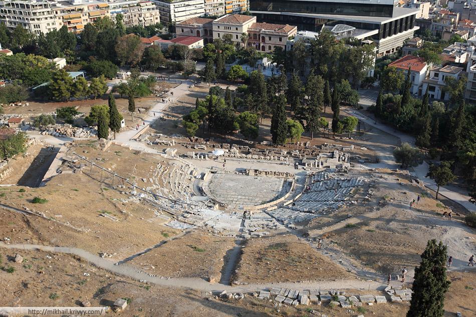 Театр Диониса Афины.