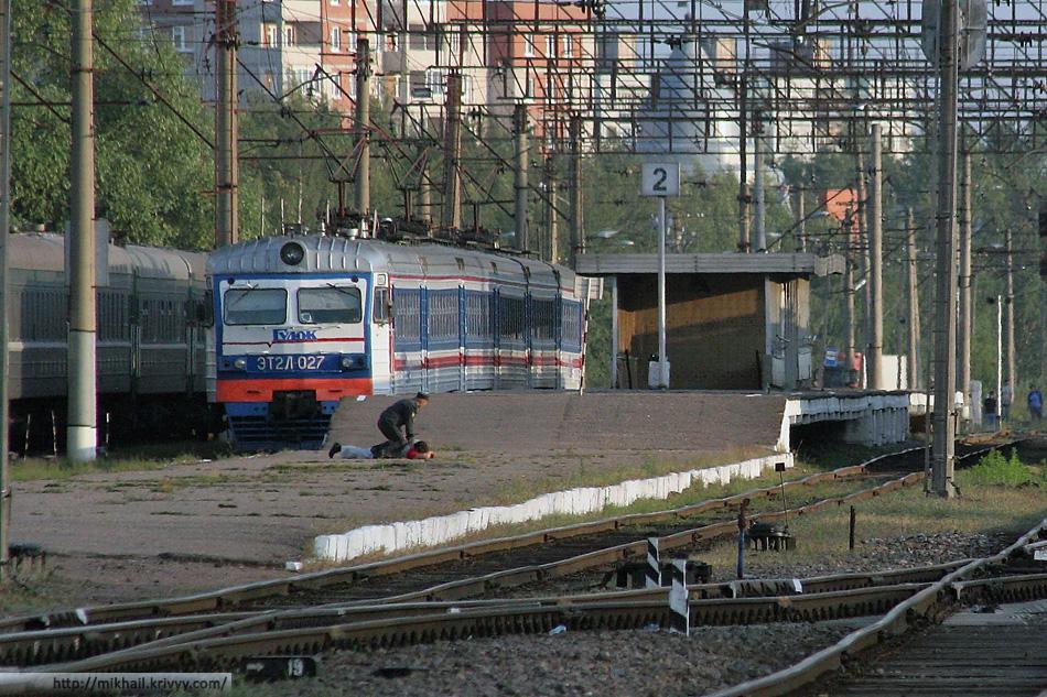 """ЭТ2Л-027 """"Гудок"""". Таким помнят питерский экспресс большинство новгородцев."""