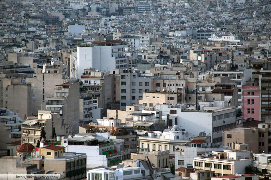 Деловой центр Афин. Площадь Омония.