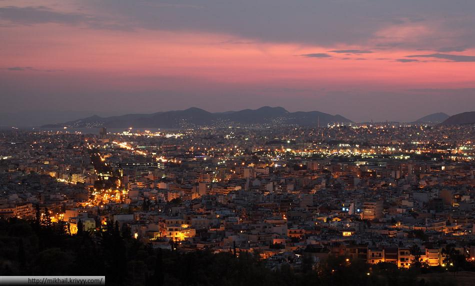 Афины, Пирей. С административным делением черт ногу сломит.