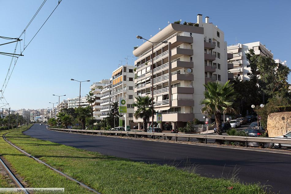 Палео-Фалиро. Афины. Квартиры с видом на море.