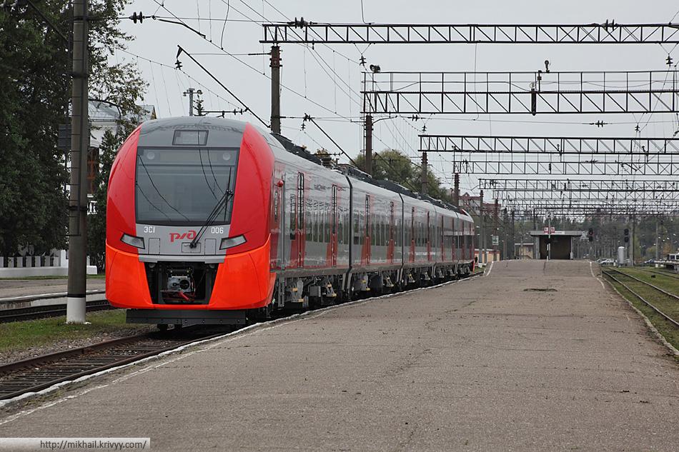"""Электропоезд ЭС1-006 """"Ласточка"""" (Siemens Desiro)"""