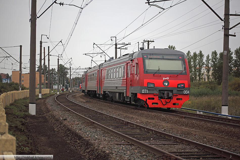 Дизель-электропоезд ДТ1-004.