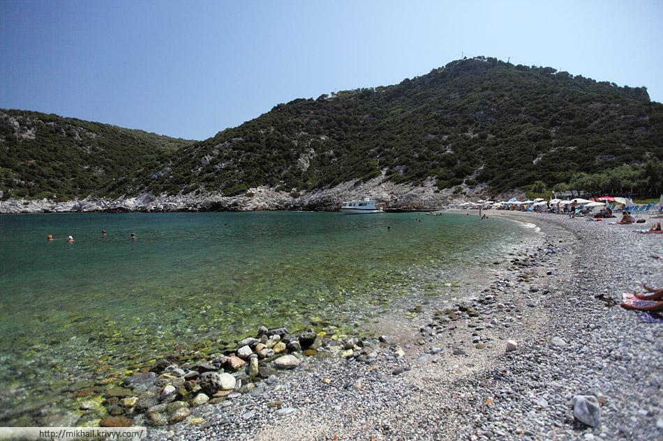 Пляж Глистери (Glysteri beach)