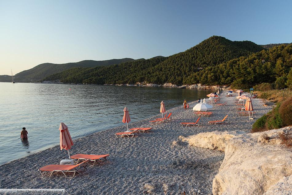 Пляж Милия (Milia beach)