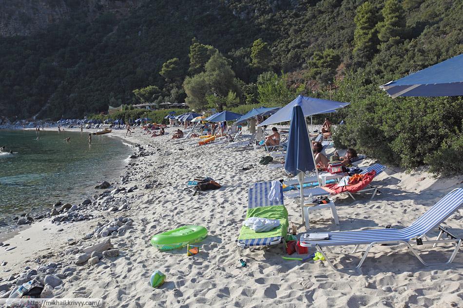 Пляж Лимнонари, Скопелос. (Limonari beach)