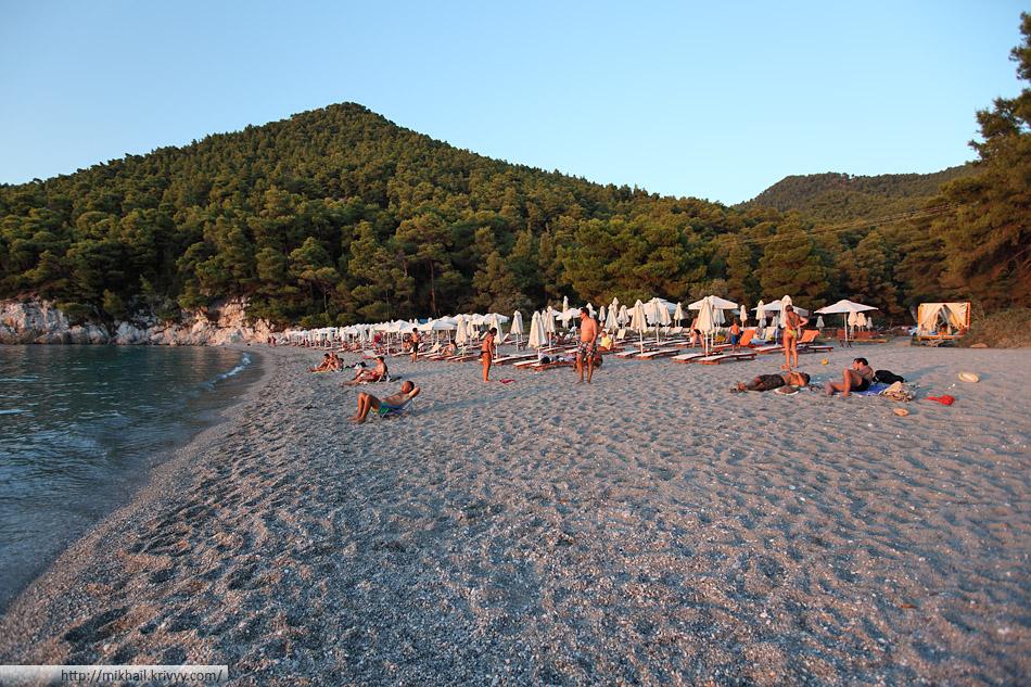 Пляж Кастани (Kastani beach)