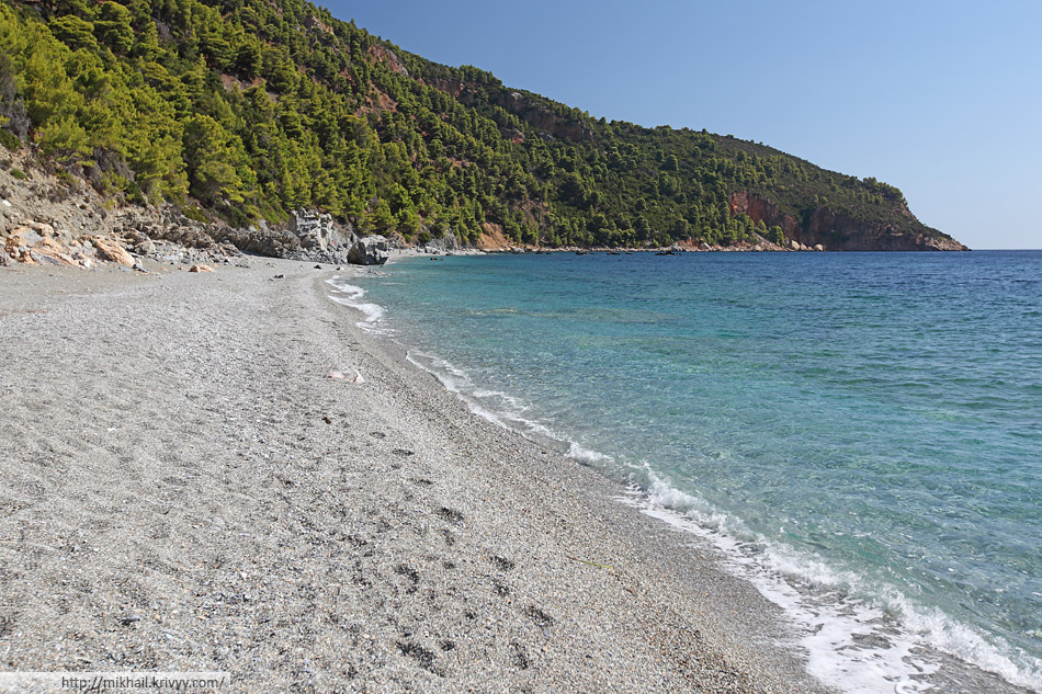 Пляж Веланио (Velanio beach)