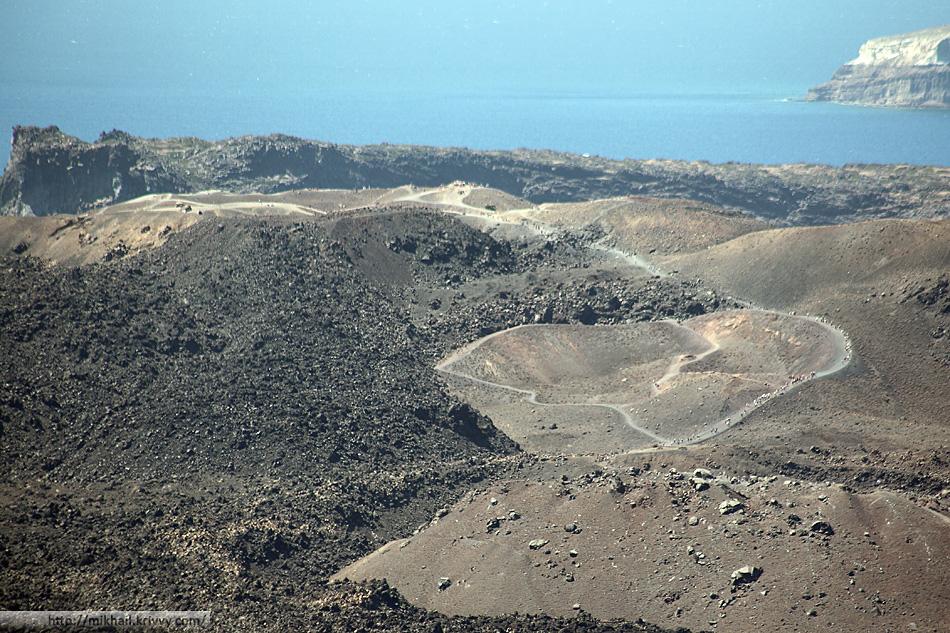 Кратер вулкана Санторини. Может быть в следующий раз.