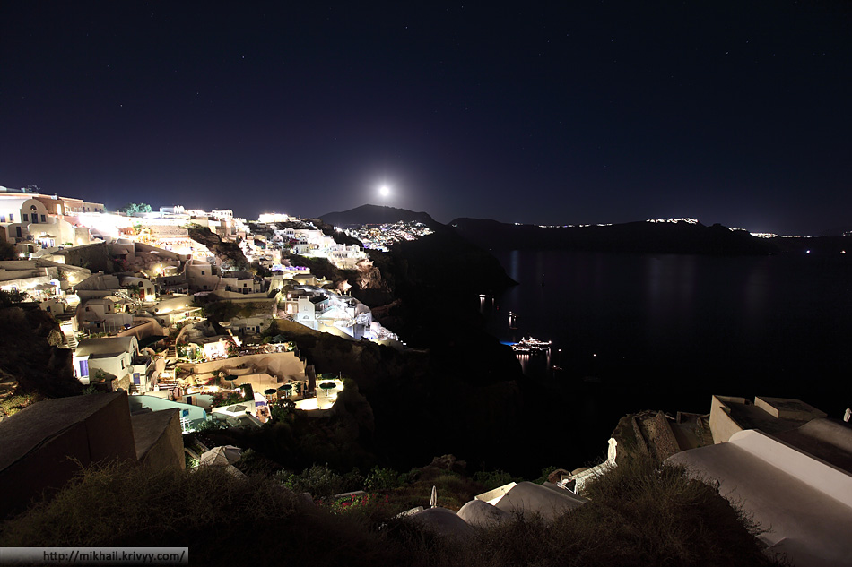 Ойя, Санторини, Греция.