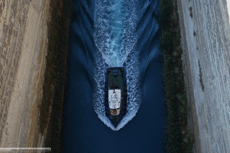 Коринфский канал. Греция.