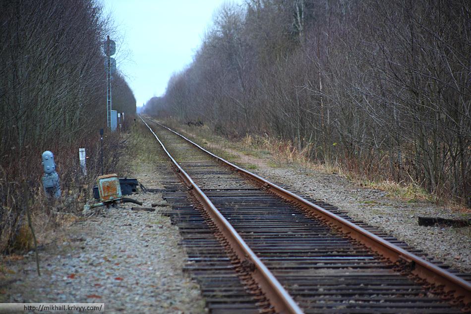 Такой эта железнодорожная ветка уже не будет никогда.