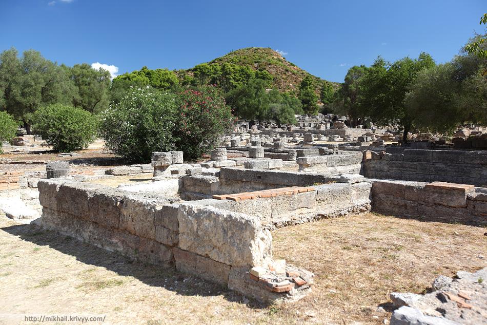 Леонидайон. Общий план. Построен около 330 г. до н.э.