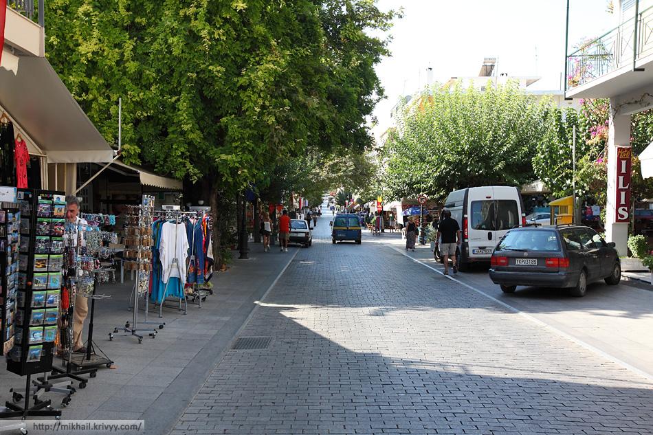 Центральная улица Археа Олимпия (Archea Olimpia)