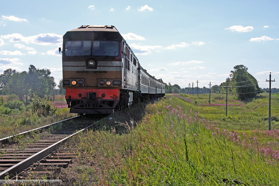О.п. 14 км, перегон Батецкая - Луга-II