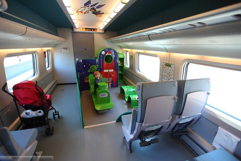 Детская площадка поезда аллегро
