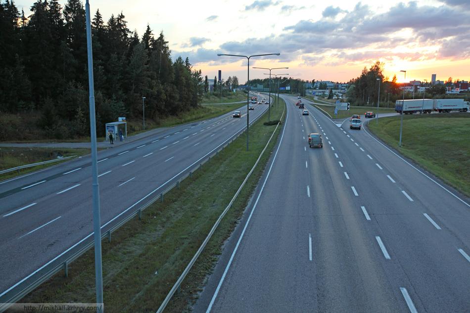 "Keha III, между торговым центром ""Jumbo"" и гостиницей Rantasipi Airport Vantaa."