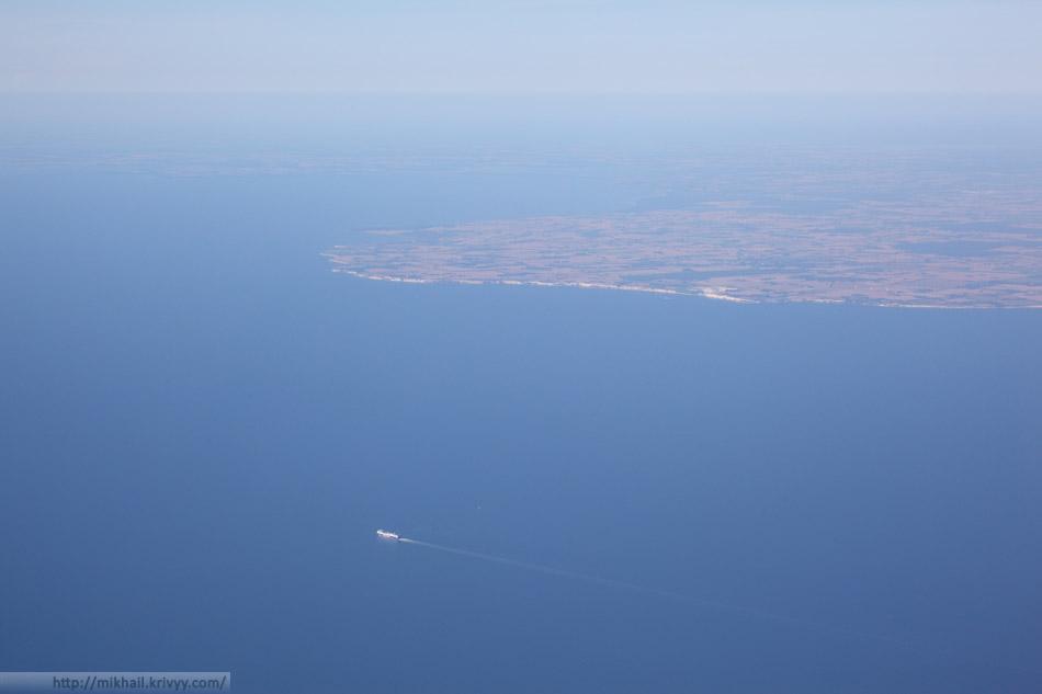 Балтика. Где-то между Данией, Германией и Польшей.