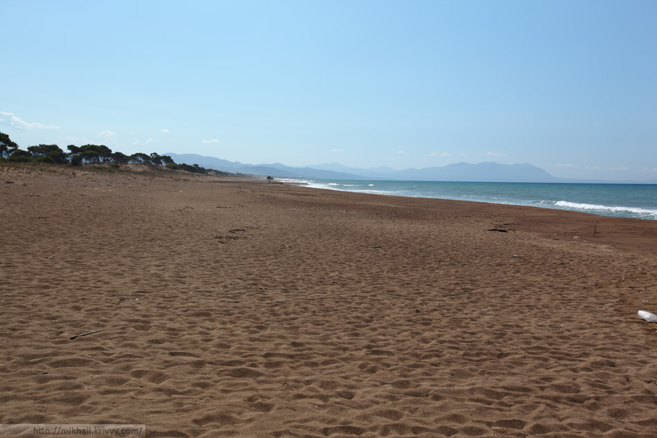 Пляж Каиафас, Ионическое море. Греция.